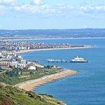 Looking towards Eastbourne