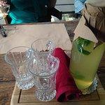 чай имбирный с мятой и лимоном