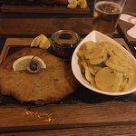Veal Schnitzel and potato salad