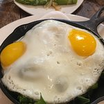 My eggs on the Kale Bake Skillet could have used a little ground cumin to add eye appeal.