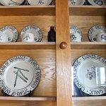 Cool plates on display