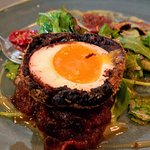 Haggis Scotch Egg - Order this! If you don't, you will regret it.