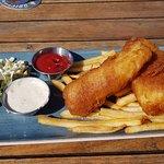 Fish & Chips. yum!