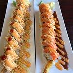Orange Roll and Sushi – fénykép
