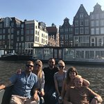 Our group on a canal tour with Those Dam Boat Guys!