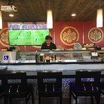 Sushi bar experience