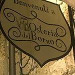 Foto di Osteria del Borgo