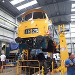One from the diesel depot- occasionally you are allowed around there