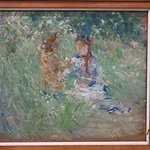 My favorite painting in the collection by Berthe Morisot, and I've never heard of her.