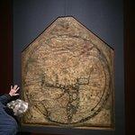 The historic Mappa Mundi.