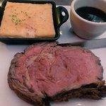 This is the prime rib w/the au gratin potato things...so yummy!