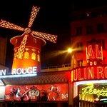 The seat of the famous Parisian cabaret show.
