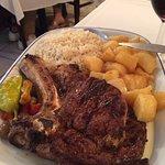 Grilled prime rib fillet....amazing.