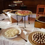 Dessert table at the brunch