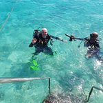 Orientation dive with Jean