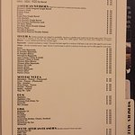 SELECT SPIRITS MENU