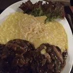 Filé mignon do chef com risoto