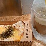 コーンバター醤油400円とキウイ酵素ソーダ400円