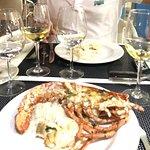 eating lobster 1