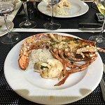 eating lobster 2
