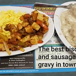 The best biscuts and sausage gravy