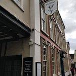 The hotel/pub exterior view