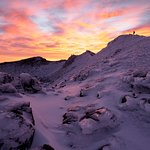 Adrift Tongariro Outdoor Guided Aventures on the Tongariro Alpine Crossing winter tour
