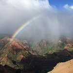 That's why it's called the rainbow state!