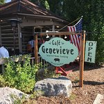 Cafe Genevieve Historic Cabin