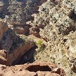 the canyon and sulfur creek