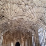 Divinity School, the fan vaulted ceiling