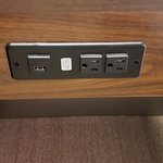 See??? Outlets EVERYWHERE - it's GREAT!