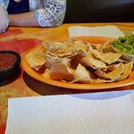 Chips and salsa/guacamole
