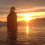 Sunset at Siwash Rock