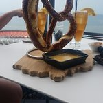 Pretzel with Cheese Small Plate Appetizer