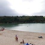Beach central part