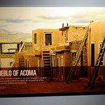 Description of Acoma Pueblo, west of ABQ