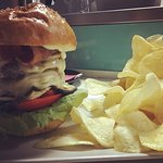Big burger con chips! #km0