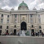 Front of the Hofburg