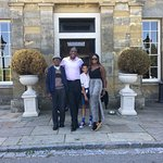 4 Generations outside Proud Country House Stanmer