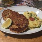 Schnitzel Teller