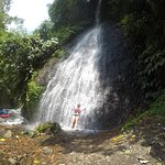 only 1 of the waterfalls along the way