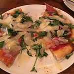 Pizza with prosciutto