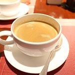 エスプレッソ風コーヒーはとても美味しかった