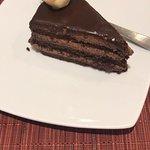 torta de chocolate muy rica