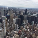 View from Empire State Building New York