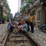 Hanoi Old Street Train