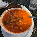 Pozole (Aztec soup)