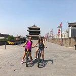 Biking on Xi'an City Wall