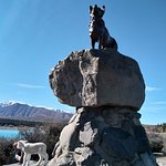 Photo of Mackenzie Sheep Dog Statue